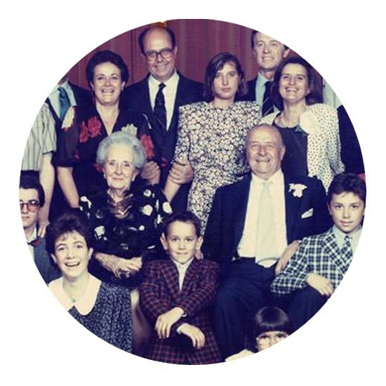 Семья владельцев гостиницы Галлия (Gallia)